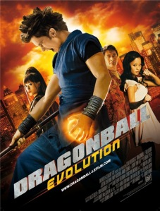 poster dragon ball evolution